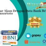 Cara Daftar Akun Dengan Data Bank Bri Di Situs Resmi Winsortoto