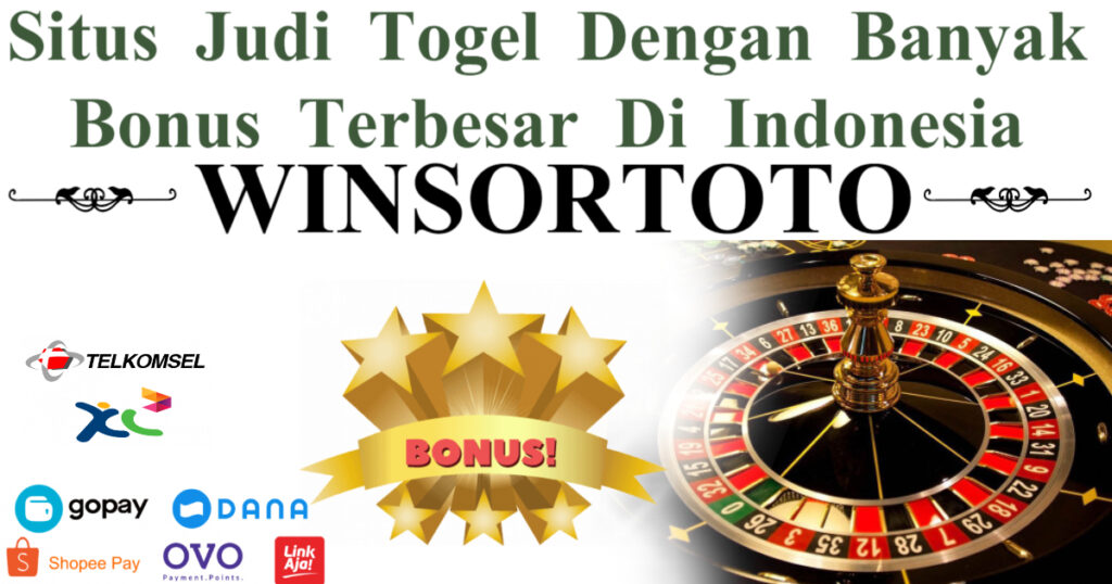Situs Judi Togel Dengan Banyak Bonus Terbesar Di Indonesia