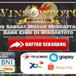 Cara Yang Sangat Mudah Mendaftar Dengan Bank Cimb Di Winsortoto