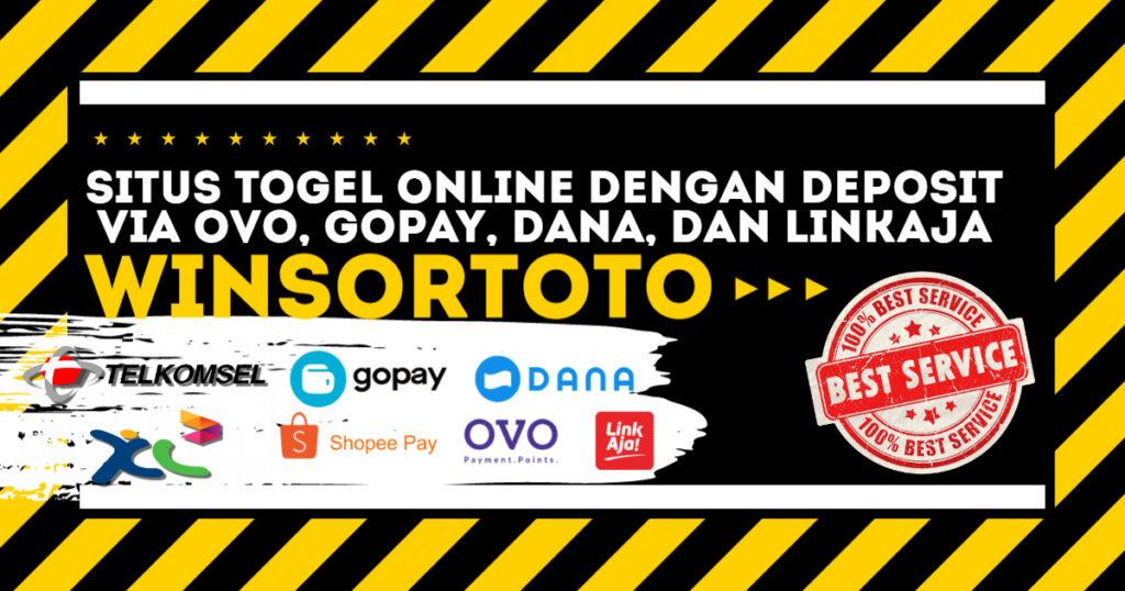 Situs Togel Online Dengan Deposit Via Ovo, Gopay, Dana, Dan Linkaja