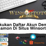 Cara Melakukan Daftar Akun Dengan Bank Danamon Di Situs Winsortoto