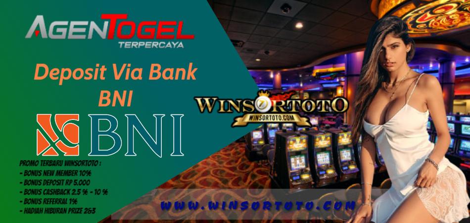 Agen Togel Online Terpercaya Deposit Via Bank BNI